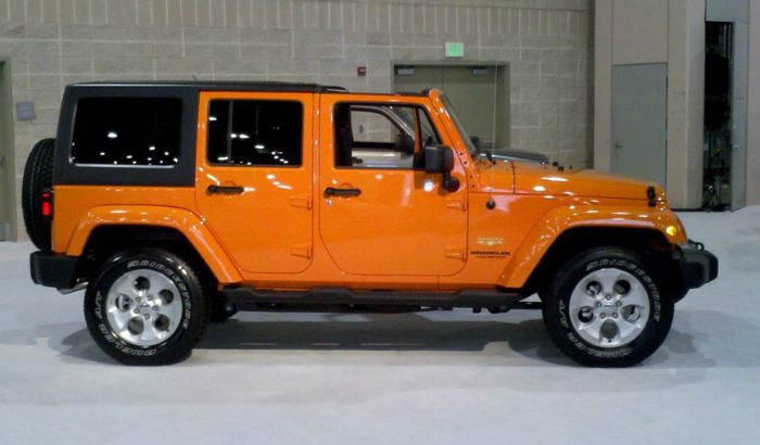 2017 Jeep Wrangler Colors Orange Jeep Orange Jeep Wrangler