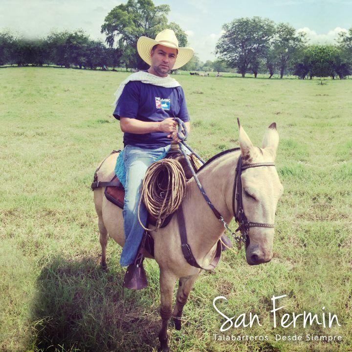 Una buena mula una silla c moda y un buen rejo son la for Sillas para vaqueria