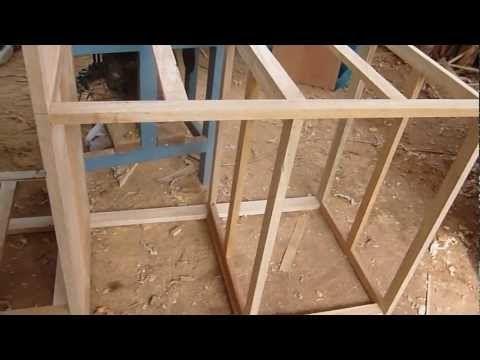 Construccion de estructura de madera con tornillos - Youtube videos de cocina ...