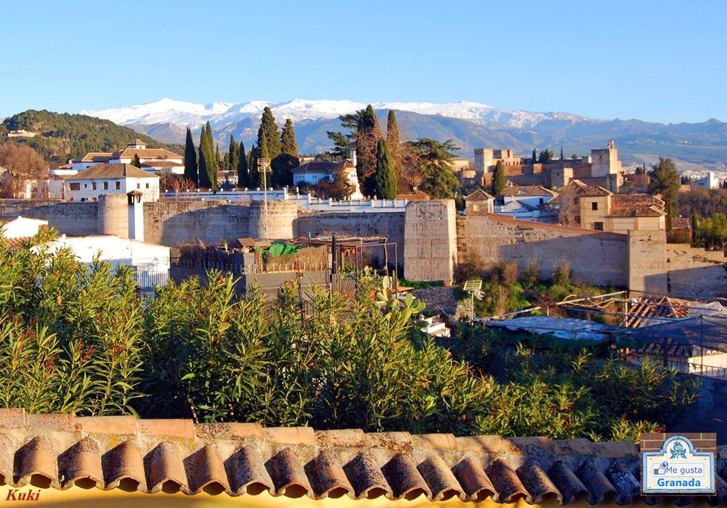 Fotos Me Gusta Granada: Desde el mirador de San Cristóbal