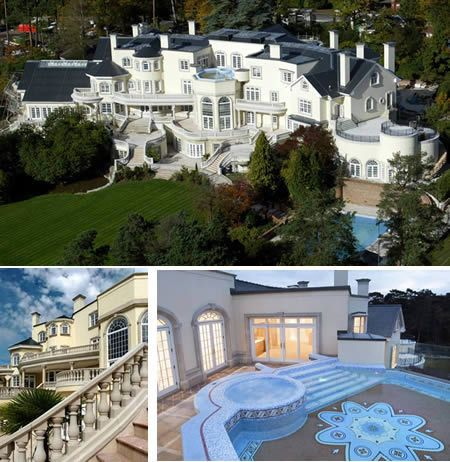10 of the worlds most insanely luxurious houses oddeecom luxurious house - Biggest House In The World Pictures
