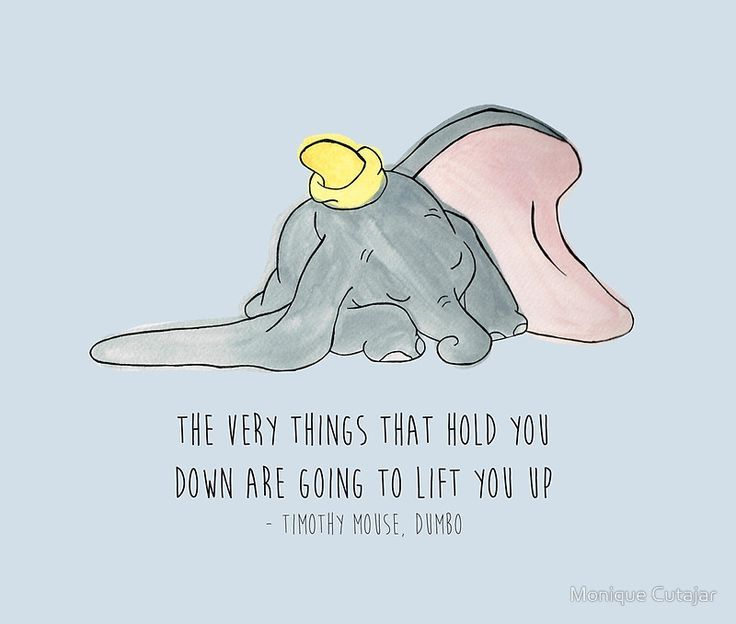 Dumbo Quotes Glamorous Pinfrances Sergeant On Disney Quotes  Pinterest  Dumbo