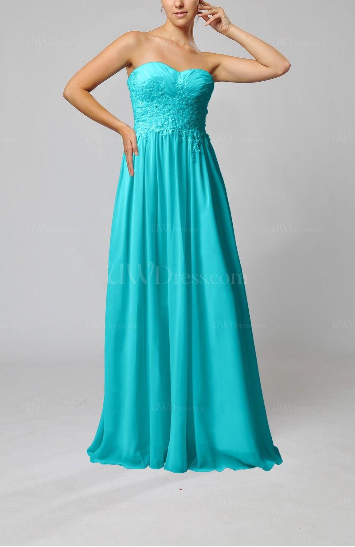 Teal elegant sleeveless zip up chiffon pleated wedding guest dresses