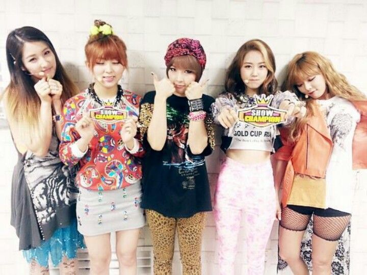4minute (Cube Entertainment)