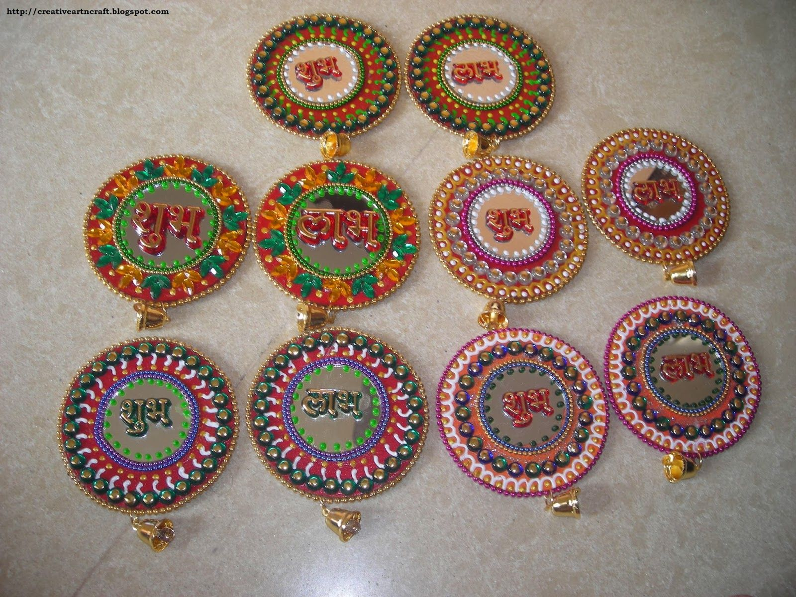 Shubh labh 4 jpg 1 600 1 200 pixels projects to try for Art and craft for diwali decoration