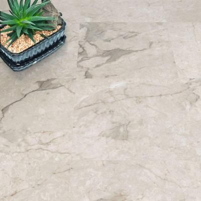 Trafficmaster Premium 12 In X Carrara Marble Vinyl Tiles 30 Sq