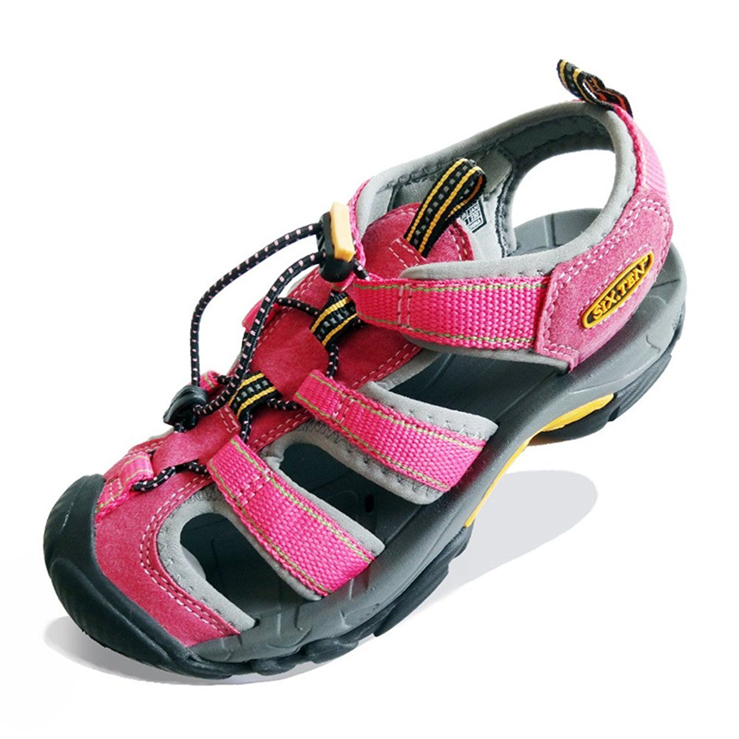 SIX.TEN Women's Outdoor Hiking Sport Sandals Closed-Toe Water Shoes =>  Additional info : Outdoor sandals | Water shoes, Mens summer shoes, Aqua  shoes