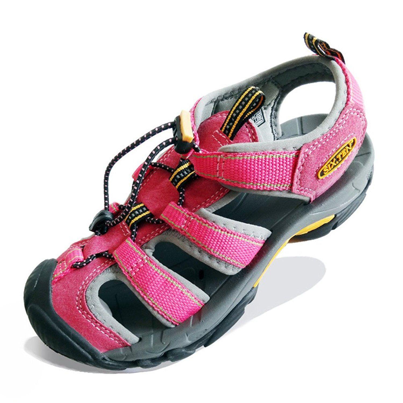 SIX.TEN Women's Outdoor Hiking Sport Sandals Closed-Toe Water ...