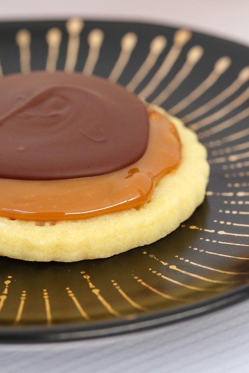 Twix Cookies - Conventional Method #twixcookies