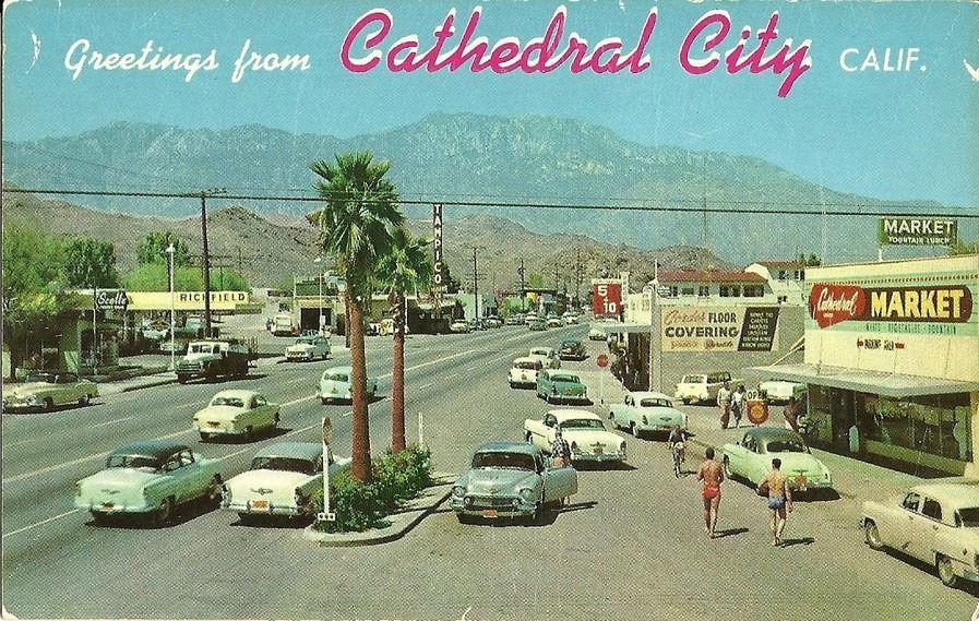 Cathedral City Hwy 111 Cathedral city, Cathedral city