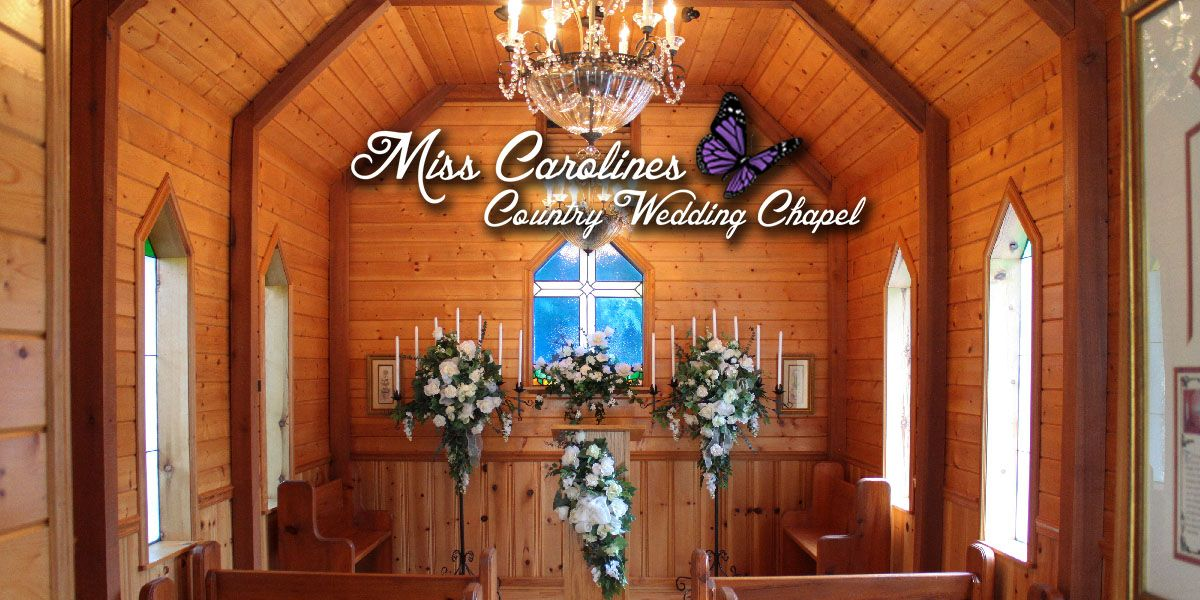 Enchanted chapel packages chapel wedding asheville