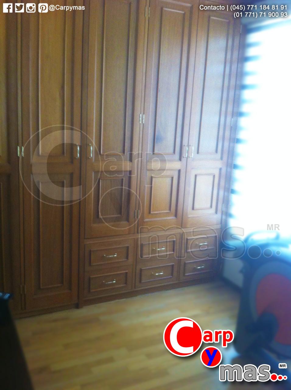 Closet con moldura. Madera de pino. | Closets | Pinterest | Molduras ...