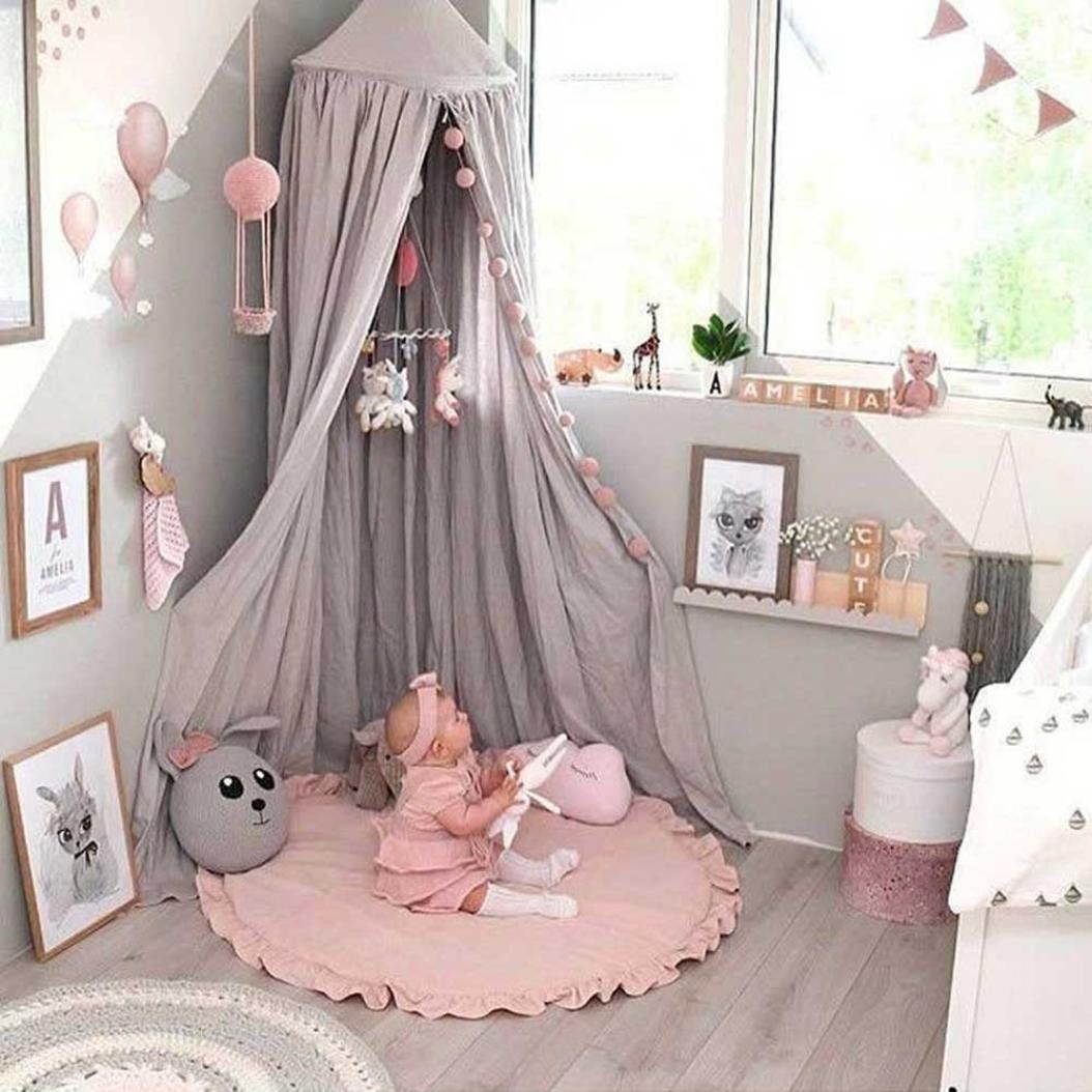 amazon com peanutcool cartoon creeping mat baby infant playmat