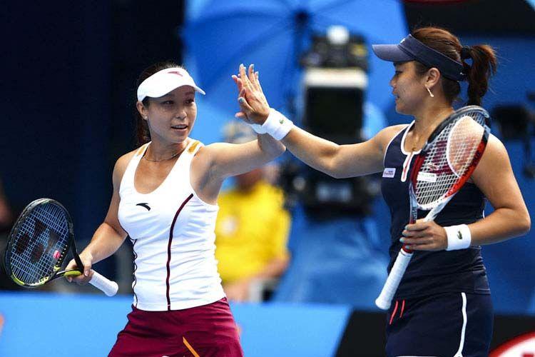 Latest Chinese News Lesson Chinese Women S Double In Australian Open Tennis Final Zheng Jie Zhan Yong Ran Chinese Women Australian Open Tennis Chinese News