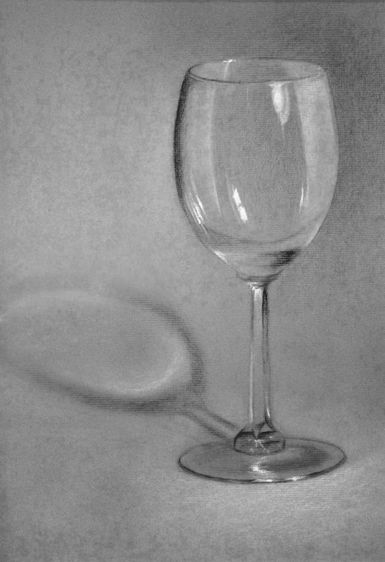 Image Result For Draw Wine Glass Glass Drawing Glass Pinterest