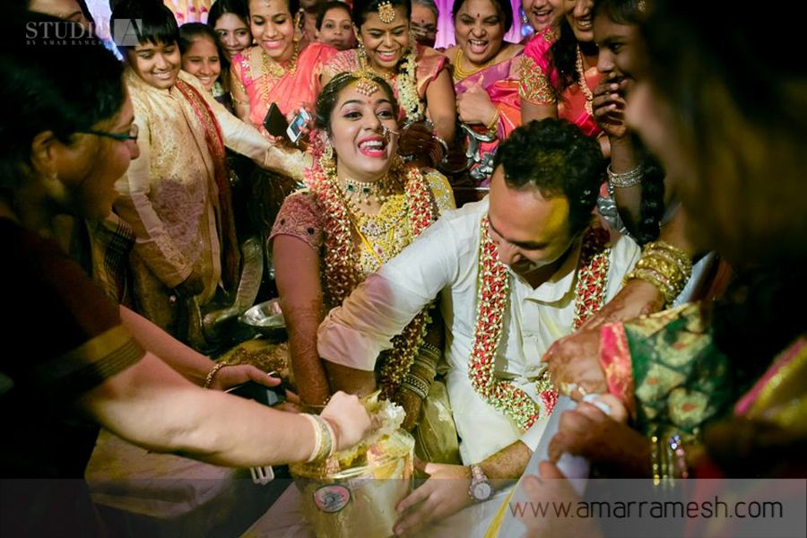 In Santhosh Padminis Grand Indian Wedding
