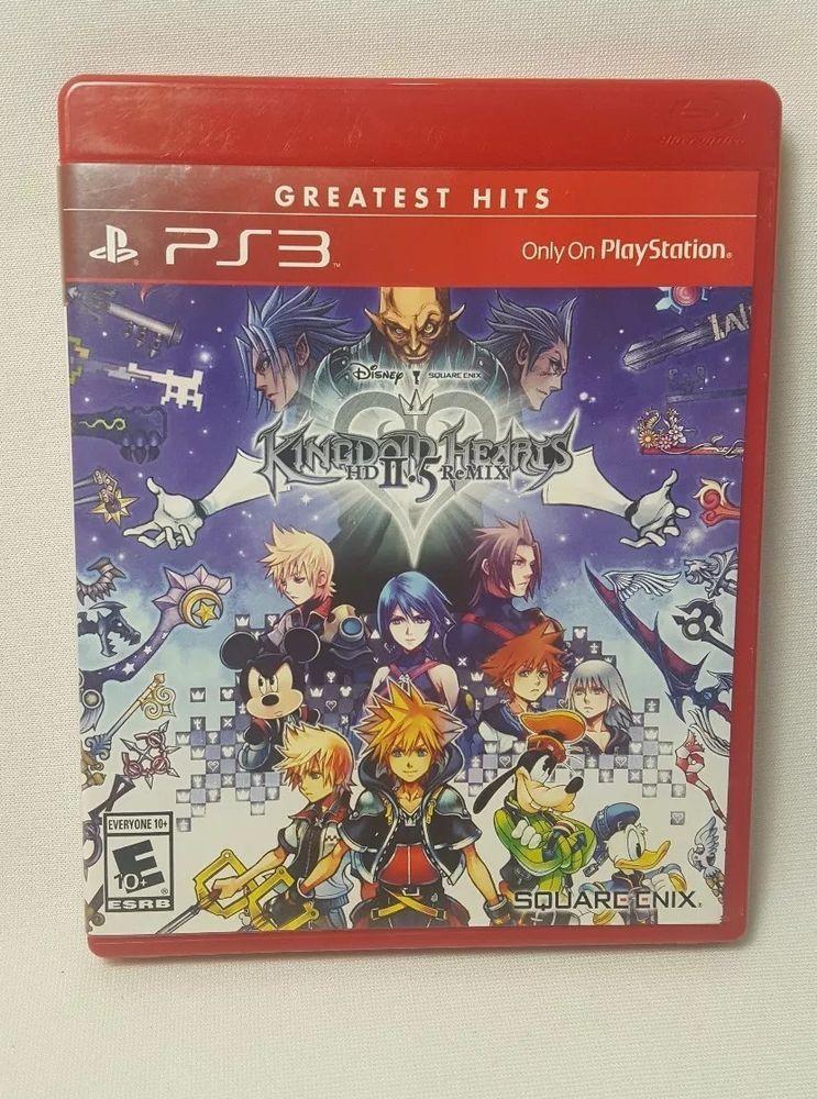 Playstation 3 Ps3 Game Kingdom Hearts Hd 2 5 Remix Brand New Sealed Playstation3 Kingdom Hearts Hd Kingdom Hearts Playstation