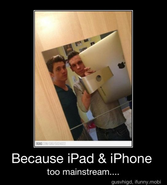 If I took my iMac in the bathroom, I must have NOTHING going on in my life. And that monster is heavy as crap.