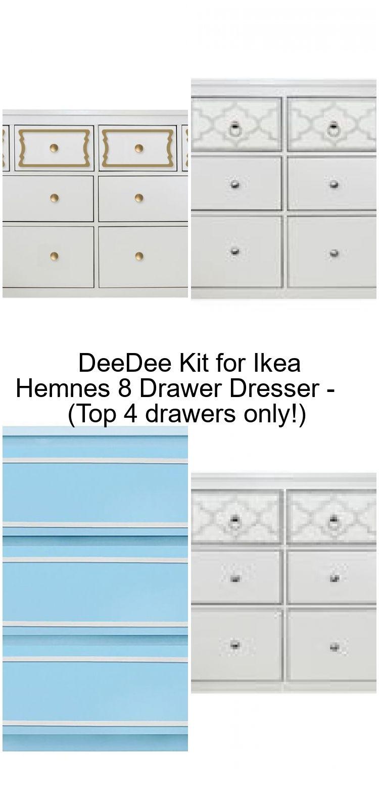 Deedee Kit For Ikea Hemnes 8 Drawer Dresser Top 4 Drawers Only Deedee Drawer Drawer Ikea Hemnes Hemnes Dresser Drawers [ 1560 x 750 Pixel ]