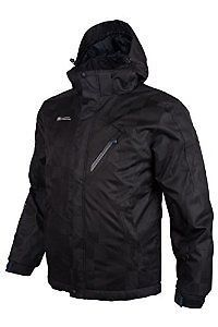 Mountain Warehouse Mens Waterproof Ski Jacket Breathable with Taped Seams