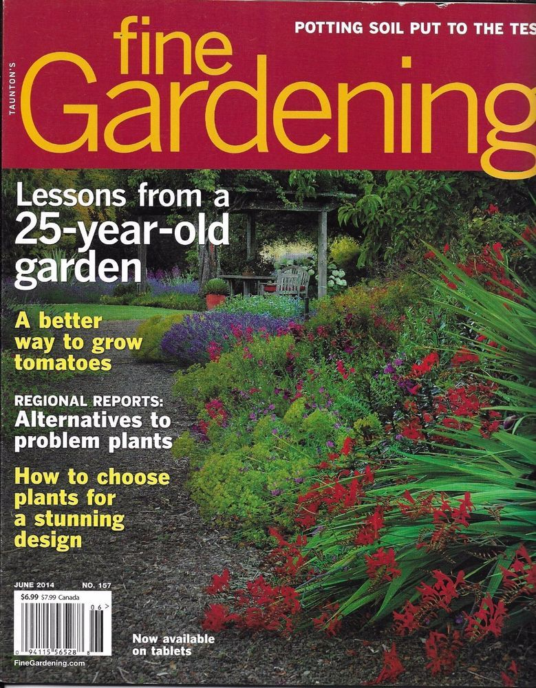 Fine Gardening magazine Mature garden tips Tomatoes Problem plants