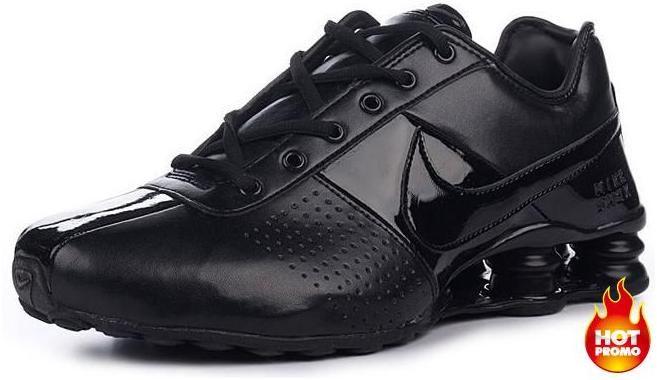 4c5ccfab49c Mens Nike Shox Deliver Full Black