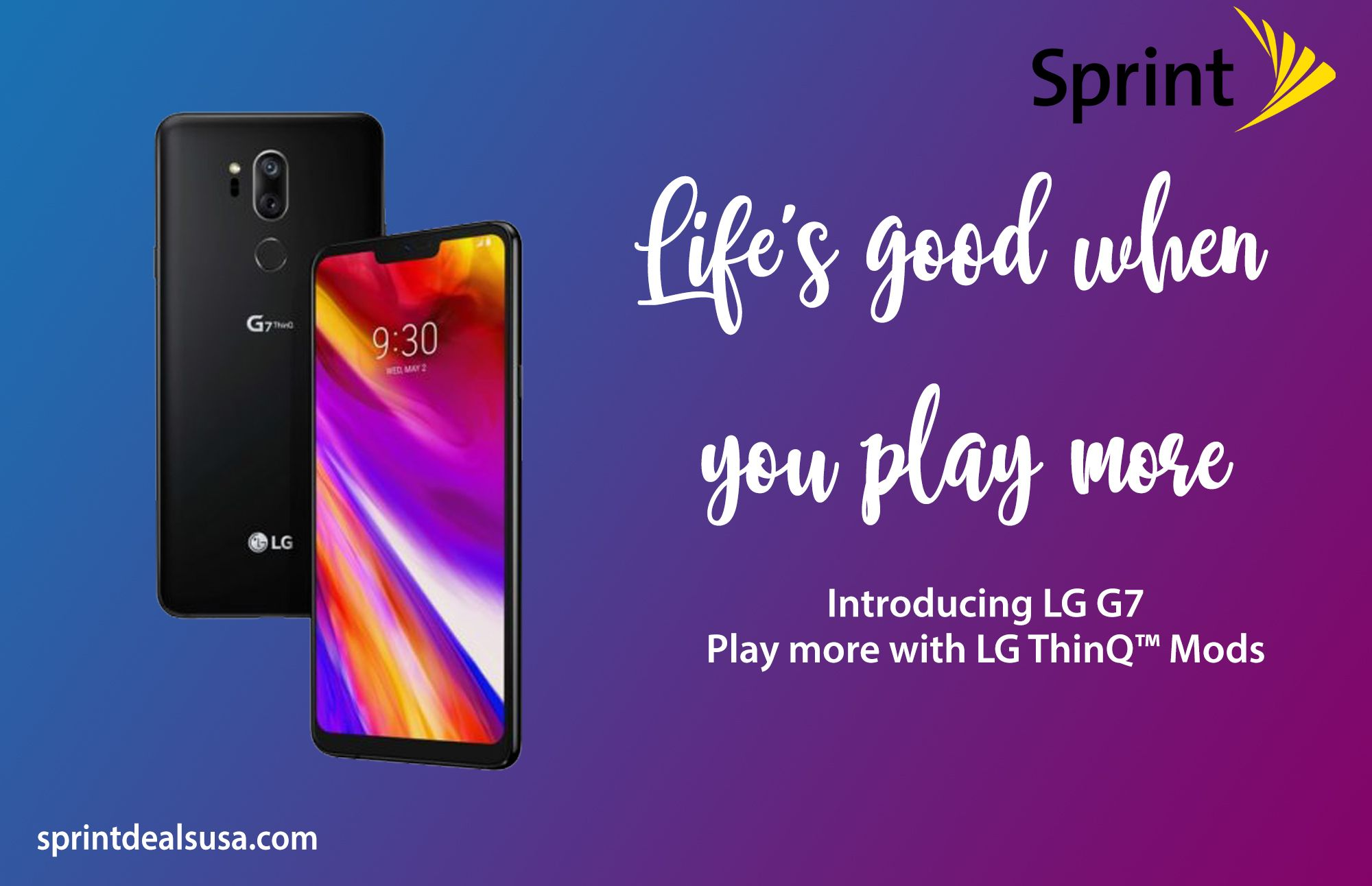 Check Out Sprint Offers The Best Phone Of Lg The Revolutionary