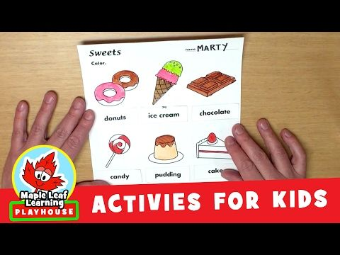 2147fe4585b Sweets Activity for Kids