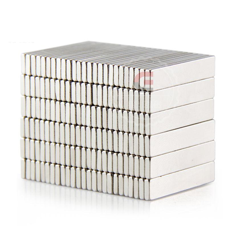 50 шт. Сильным Редкоземельных Бар Неодимовые Магниты N50 25x5x1.5 мм Настраиваемые Перманентных магнит