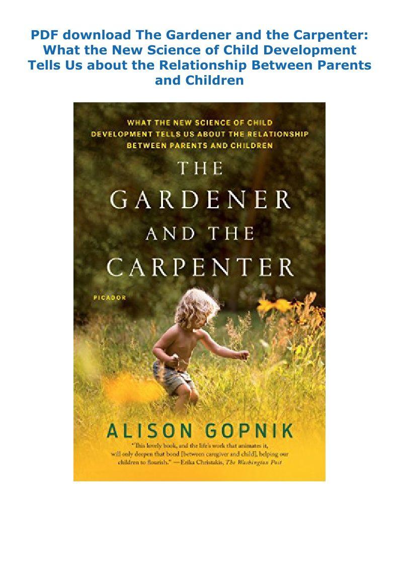 293e94b4a1dd207591396f53d5982e82 - The Gardener And The Carpenter Free Pdf