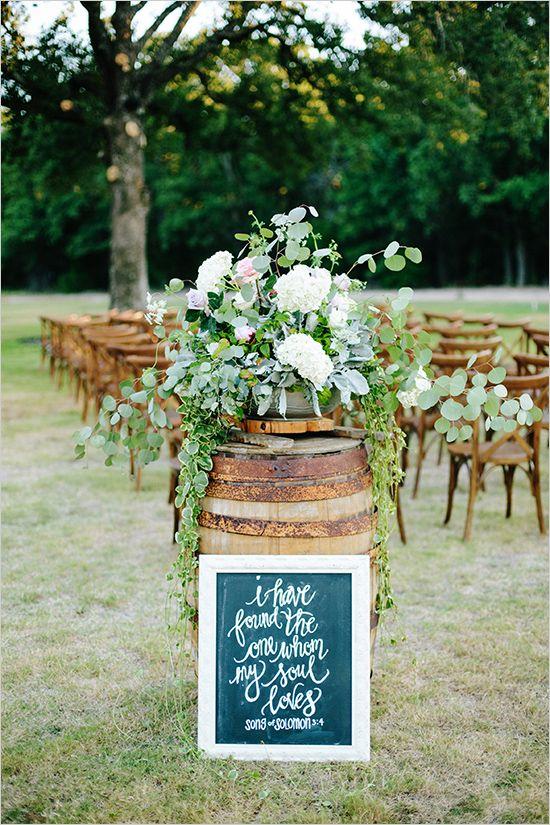 Country Backyard Wedding Ideas 20 genius outdoor wedding ideas 35 Creative Rustic Wedding Ideas To Use Wine Barrels