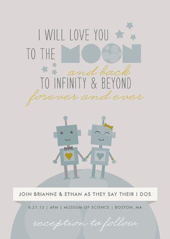 Infinity Beyond Wedding Invitations Wedding Invitations