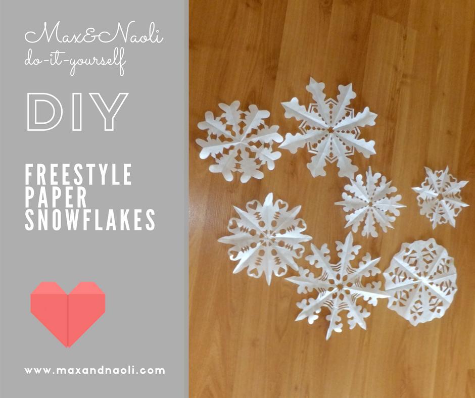 DIY Paper Snowflakes Diy christmas snowflakes, Craft
