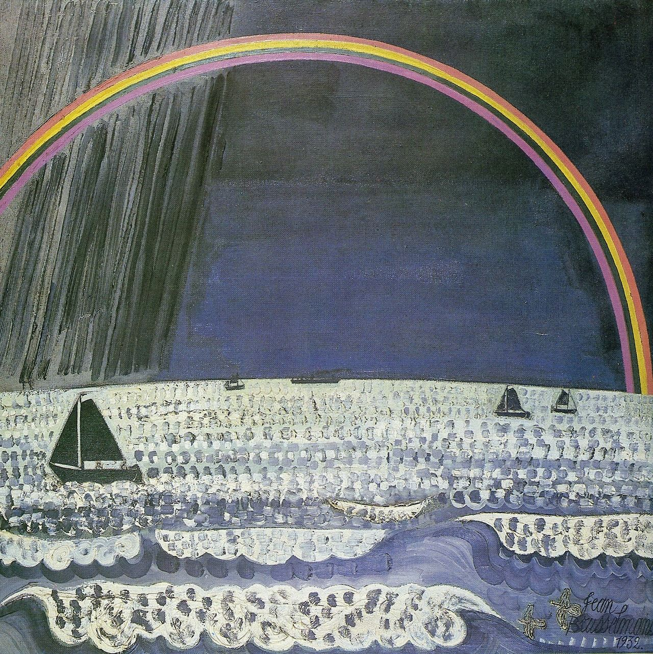 Jean Brusselmans (Belgian: 1884-1953), The Rainbow.