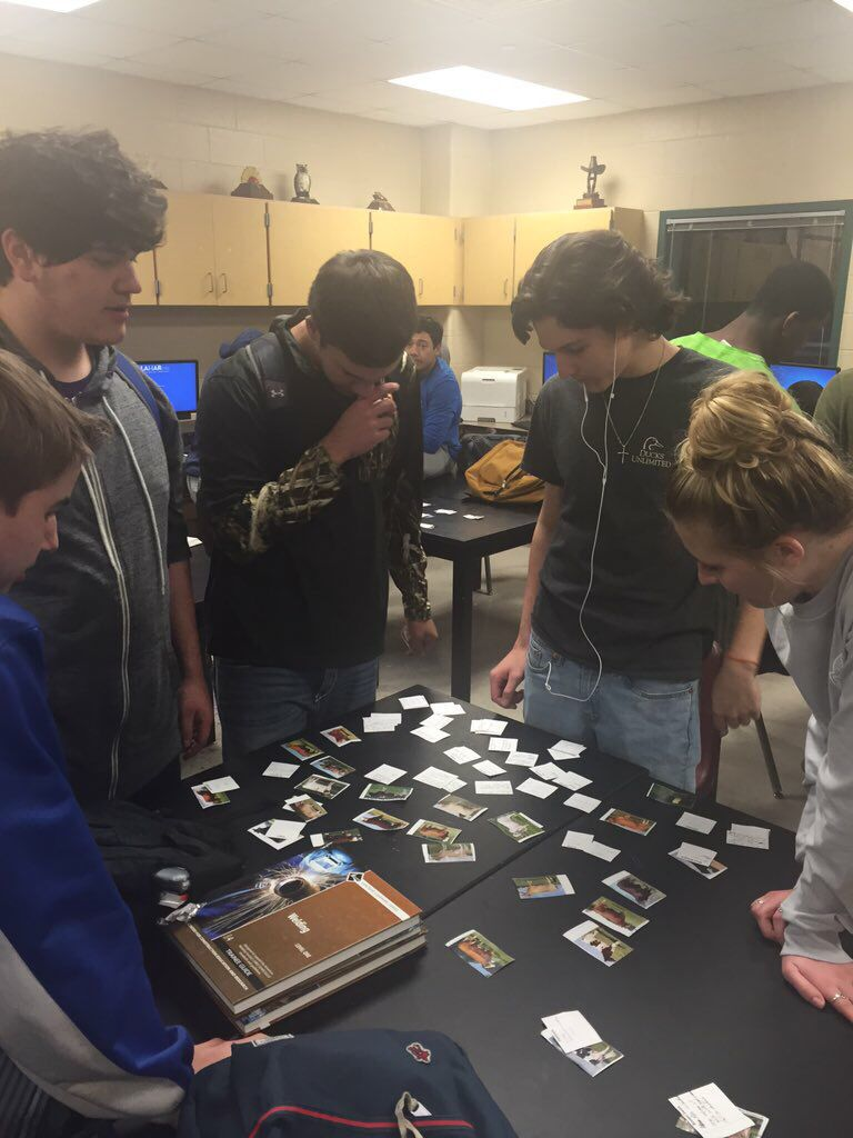 Here's a brief video about the memory game for beef cattle breeds. Great way to get out of the desk and learn. Mrs. Haley George Ranch FFA - www.OneLessThing.net