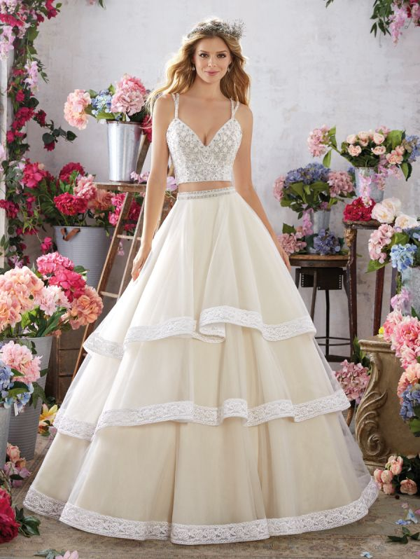d8cfcaecc822 These gowns  An absolute dream. – Style Me Pretty