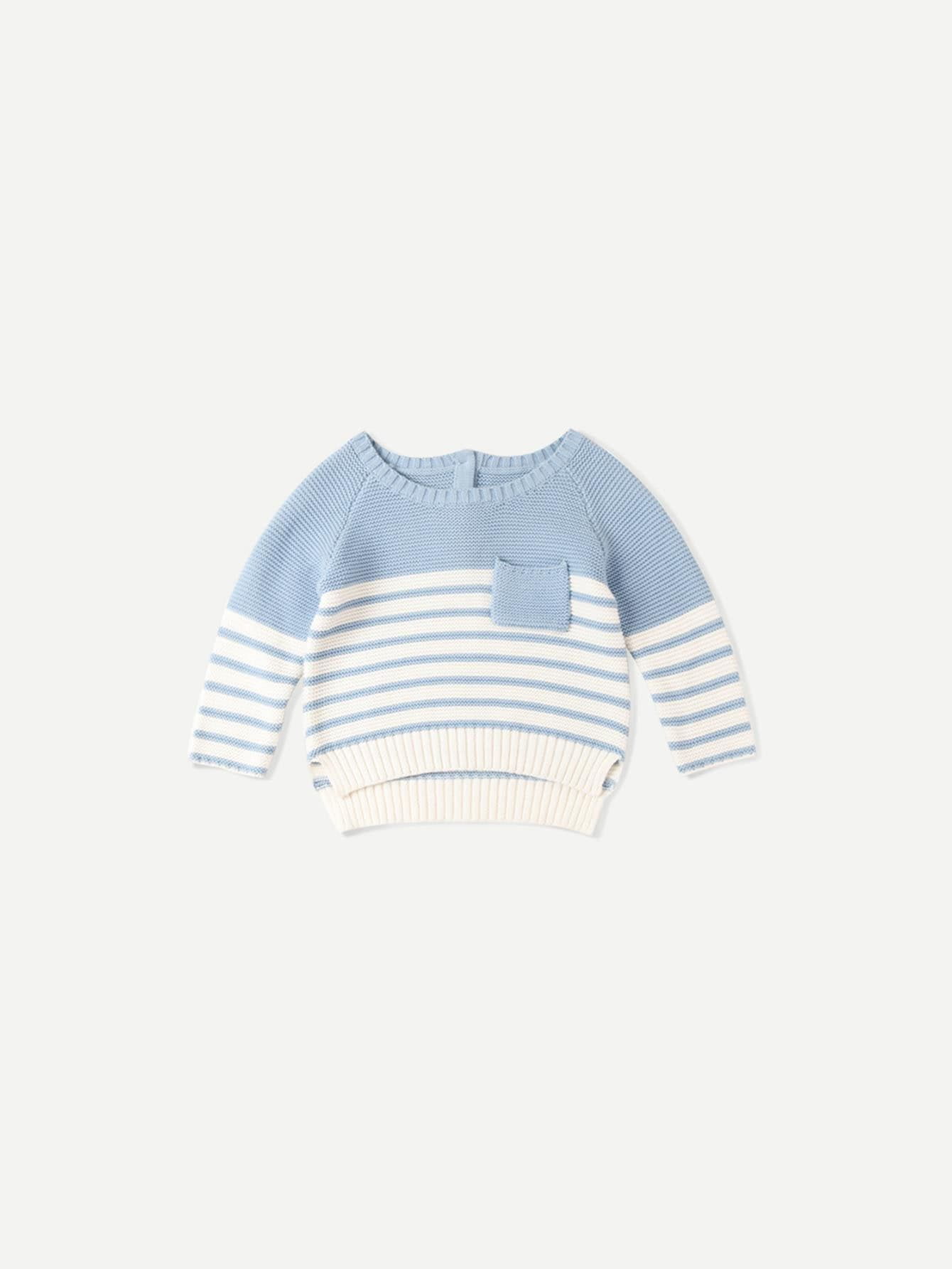 LJYH Girls Pullover Sweater Cotton Sweater Casual Style with Stripe for Boys//Girls 1-8Y