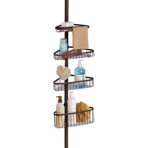 Home Improvement Corner Shower Caddy Shower Storage Shower Shelves