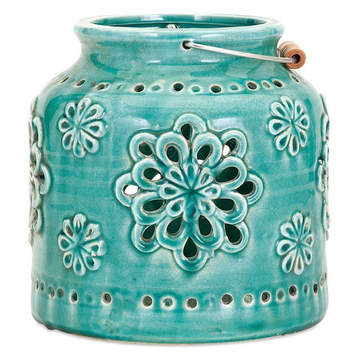 Turquoise Cordoba Lantern - Everything TurquoiseEverything Turquoise