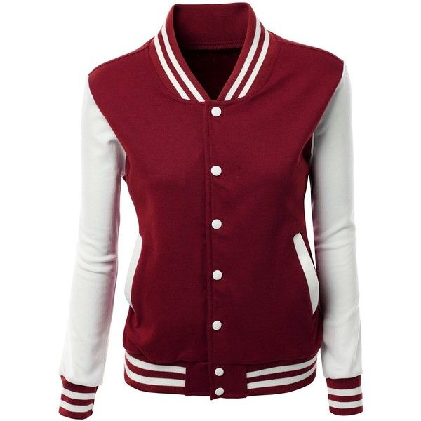 Xpril Women S Stylish High Quality Fabric Baseball Jacket Varsity Jacket Women Fashion Clothes Women Varsity Jacket Outfit