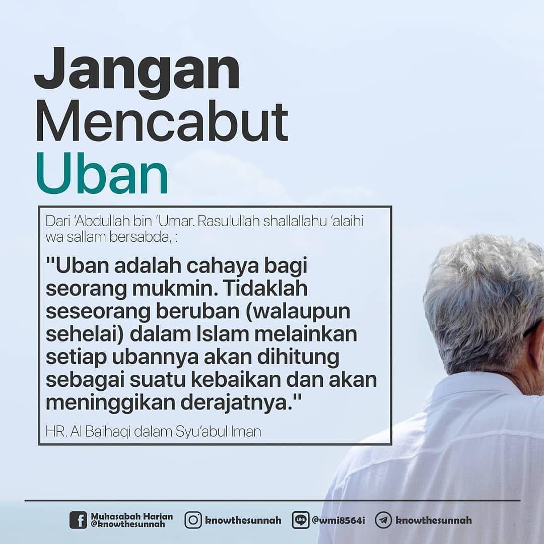 Larangan Mencabut Uban Dalam Islam