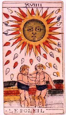 Tarot of Jean Dodal, The Sun