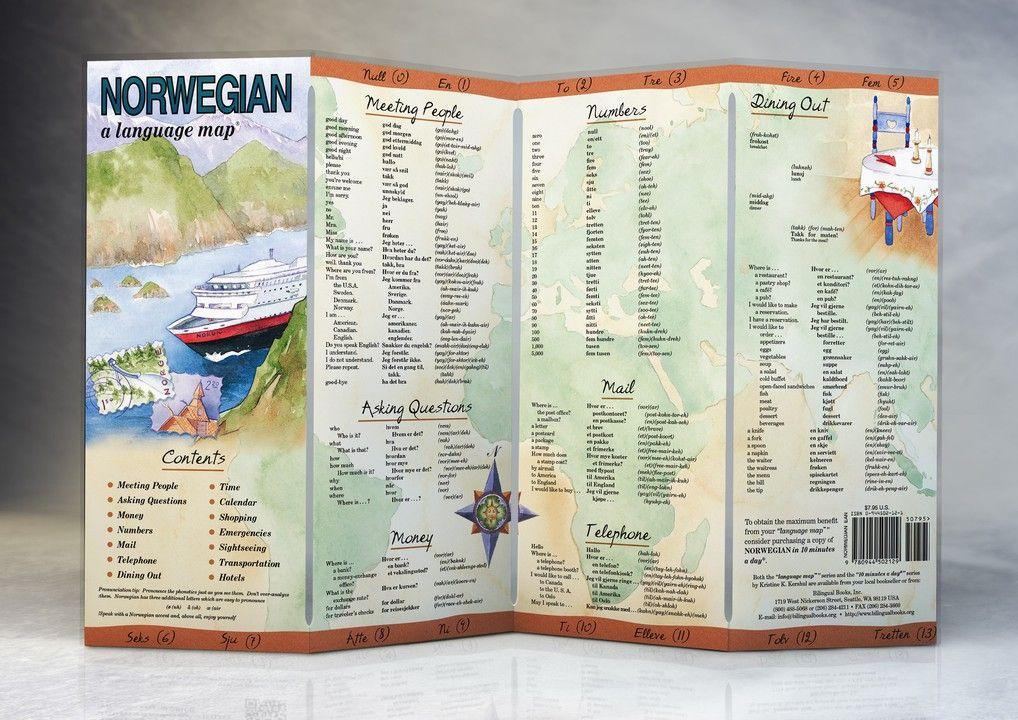 NORWEGIAN a language map®