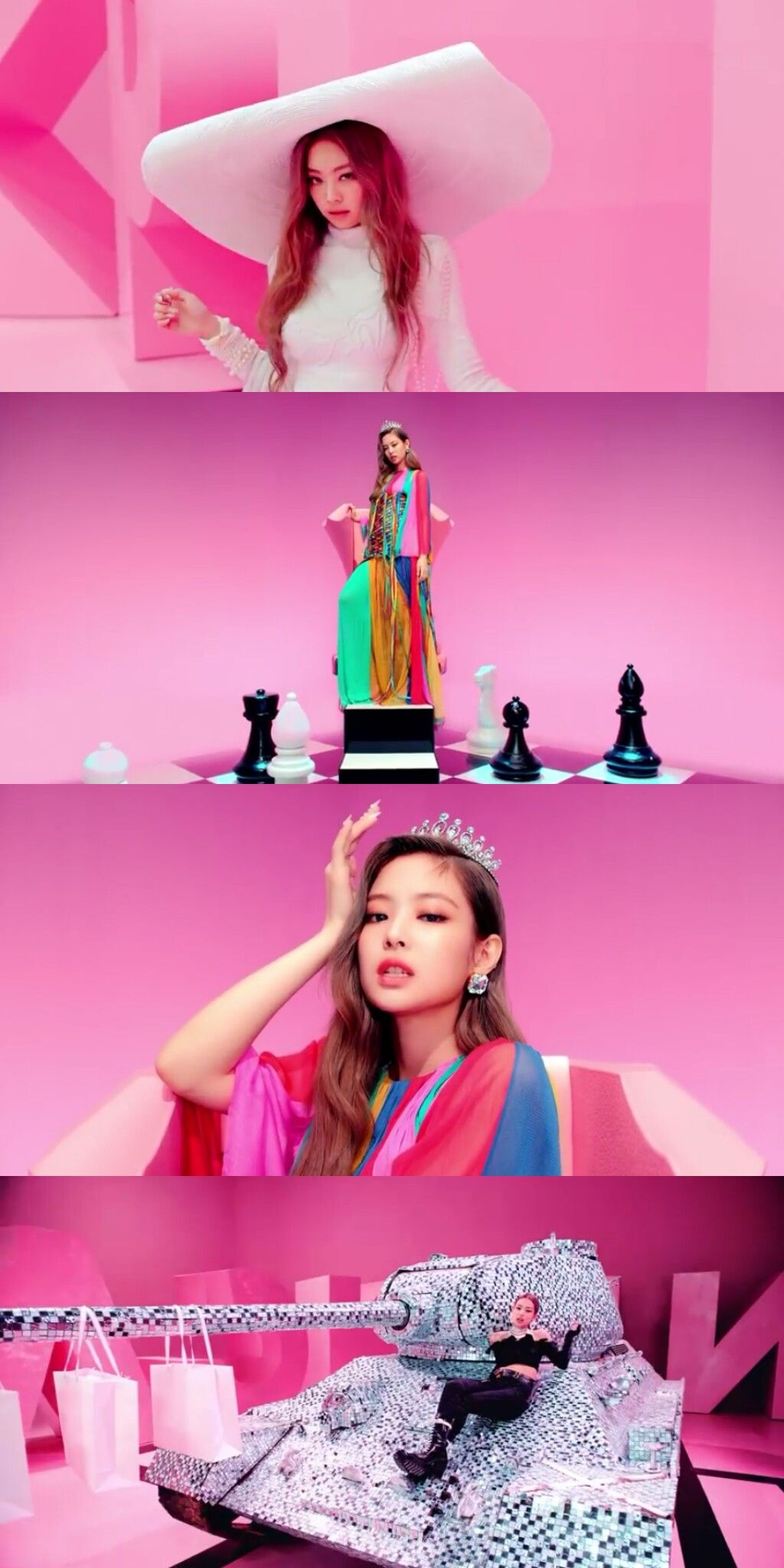 JENNIE BLACKPINK '뚜두뚜두 (DDU-DU DDU-DU) 'SQUARE UP' # ...