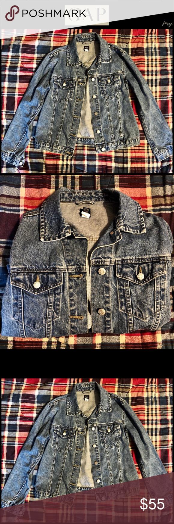 later purchase cheap hot products Gap Womens Soft Wear Icon Denim Jacket Medium | My Posh Picks ...