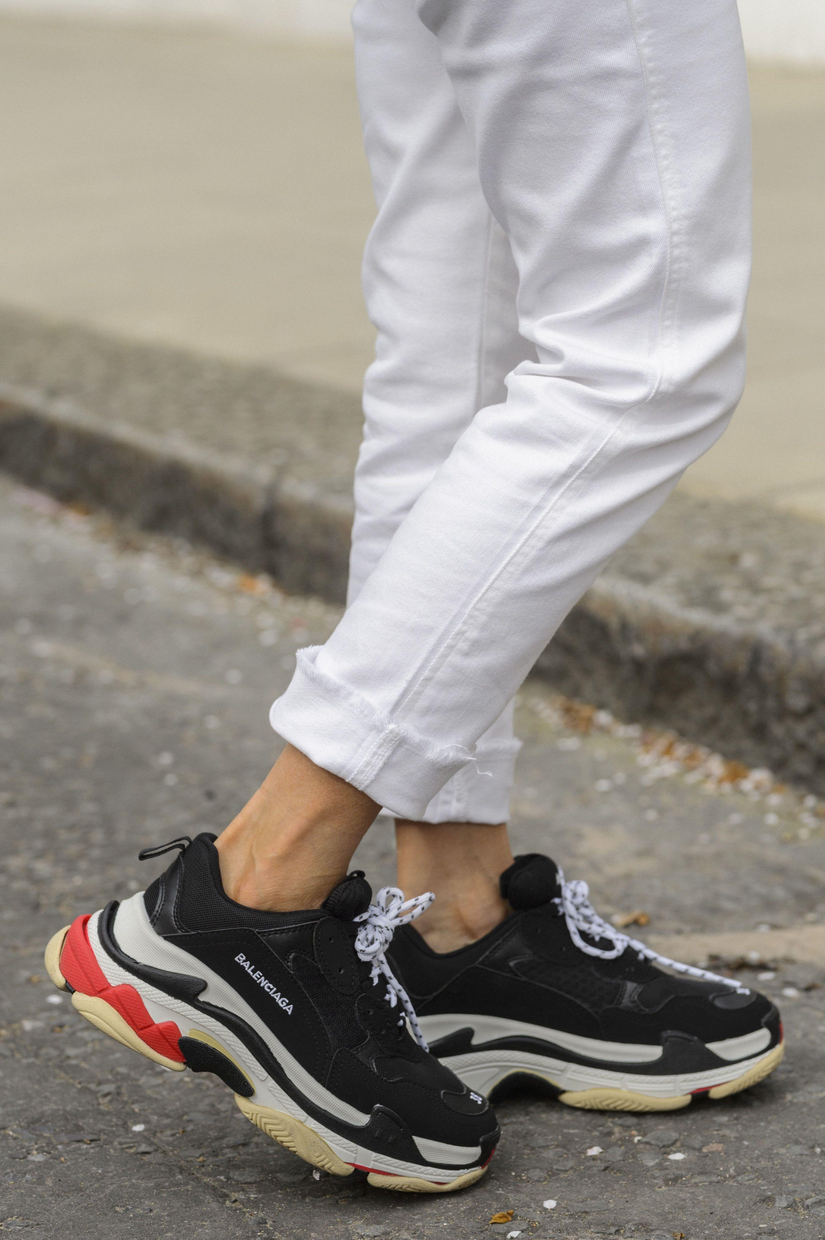 quality design 33e0d d19ac Maria Hatzistefanis - Mrs Rodial - Street Style - Balenciaga Triple S  Trainers