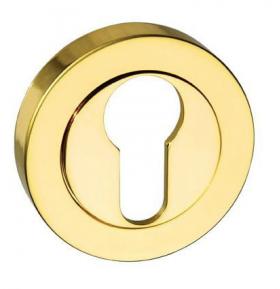 "The Atlantic M-ESC-E-BP Euro Profile Escutcheon Polished Brass is a euro profile escutcheon to match Atlantic levers beginning with ""M""."