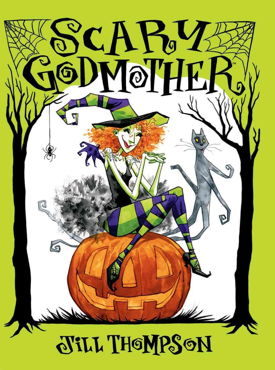 It's Halloween night, and it's up to Scary Godmother to