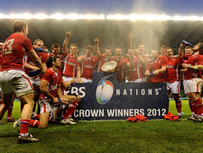 Wales Celebrate Triple Crown Success Wales Rugby Wales Rugby Team Welsh Rugby Team