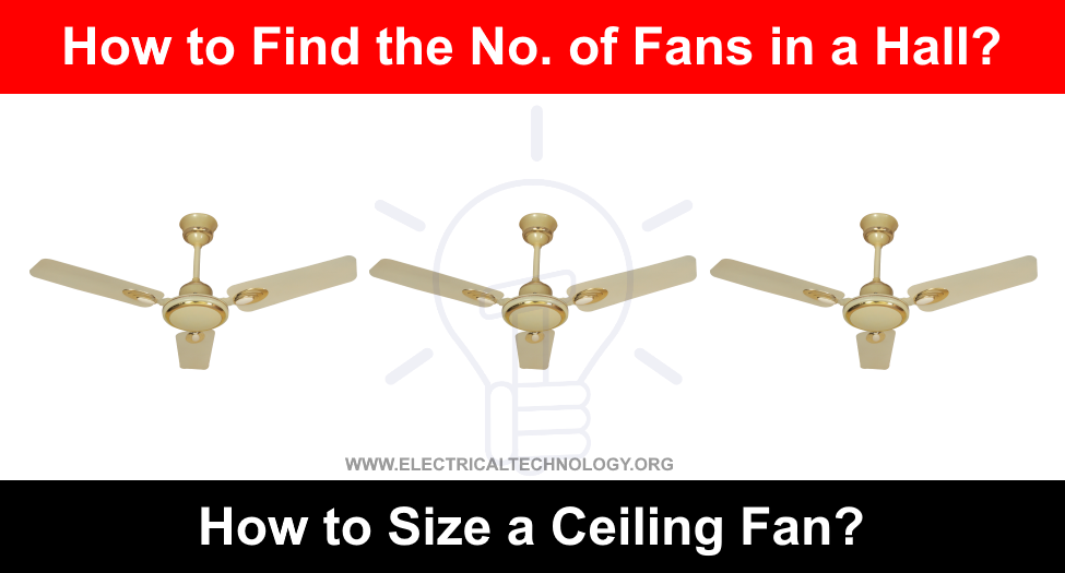 How to Size and Find the Numbers of Ceiling Fan in a Room